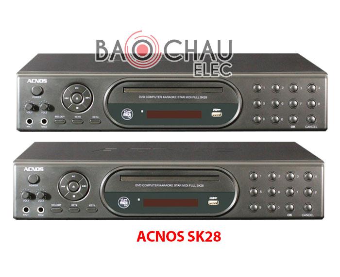 Đầu karaoke ACNOS SK28