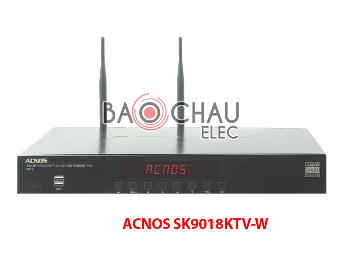 Đầu Karaoke độ nét cao 1080P ACNOS SK9018KTV-W