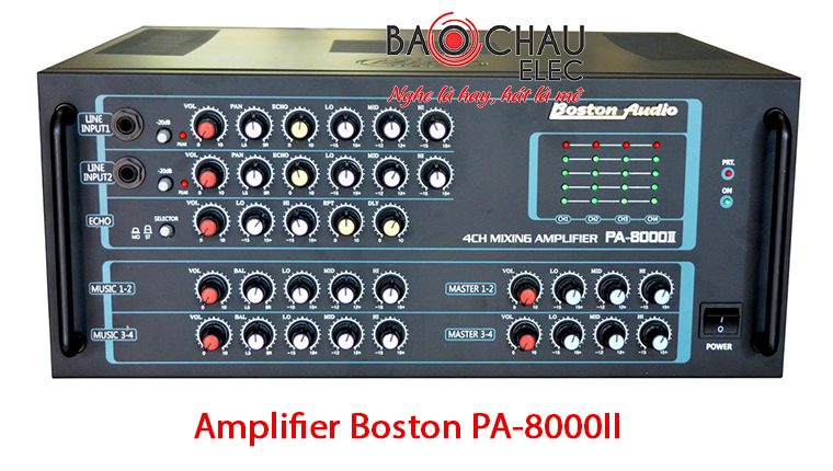 Amply Boston PA-8000II