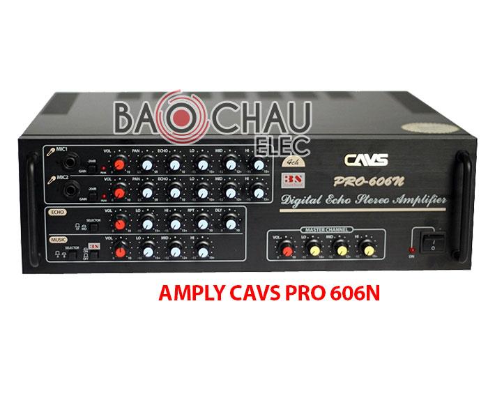 Amply CAVS PRO 606N