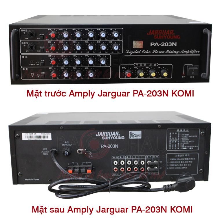 Amply Jarguar Suhyoung PA-203N do KOMI nhập khẩu mới 100%