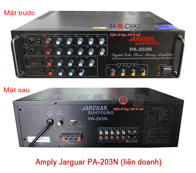 Amply Jarguar 203N lien doanh