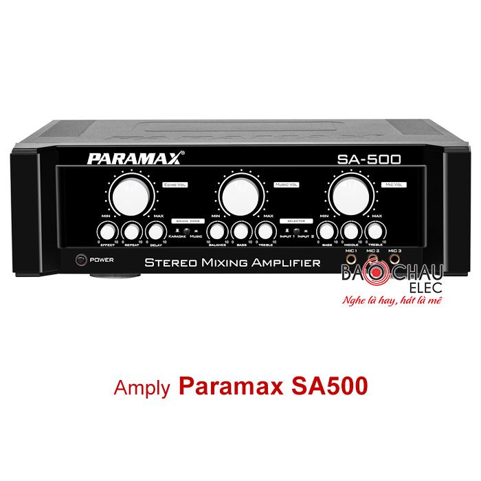 Amply karaoke Paramax SA500
