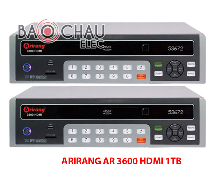 ARIRANG AR 3600 HDMI 1TB