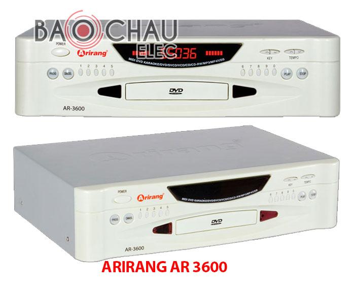 Đầu karaoke Arirang AR 3600