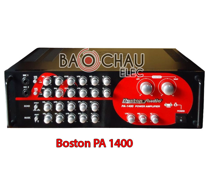 Amply Boston PA 1400
