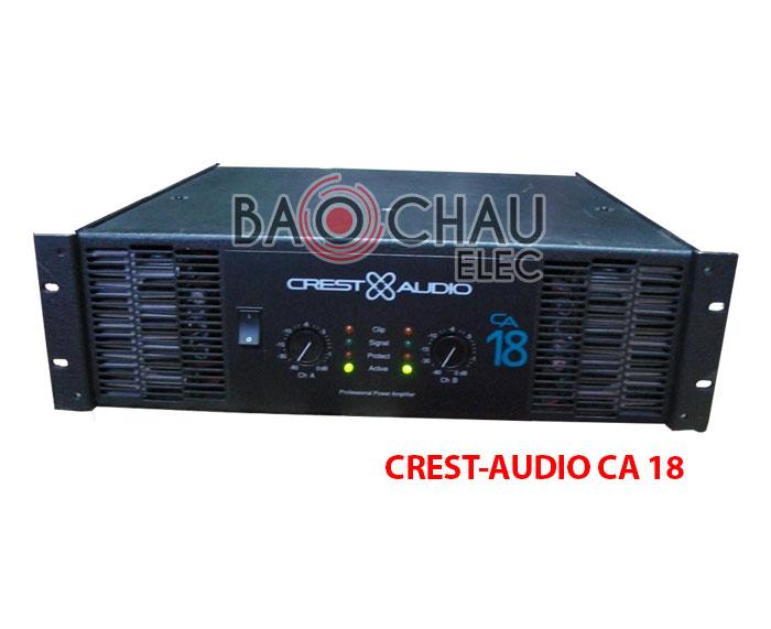 Cục đẩy Crest-audio CA 18