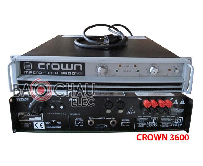 Cục đẩy Crown 3600