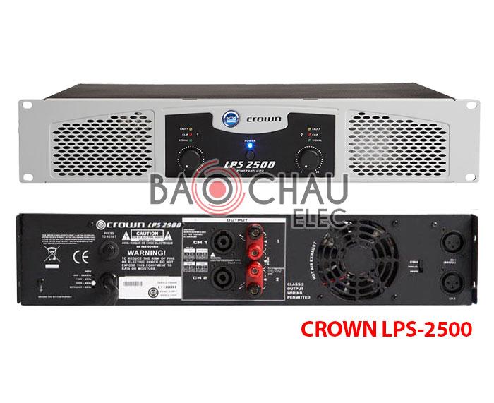 Cục công suất Crown LPS-2500