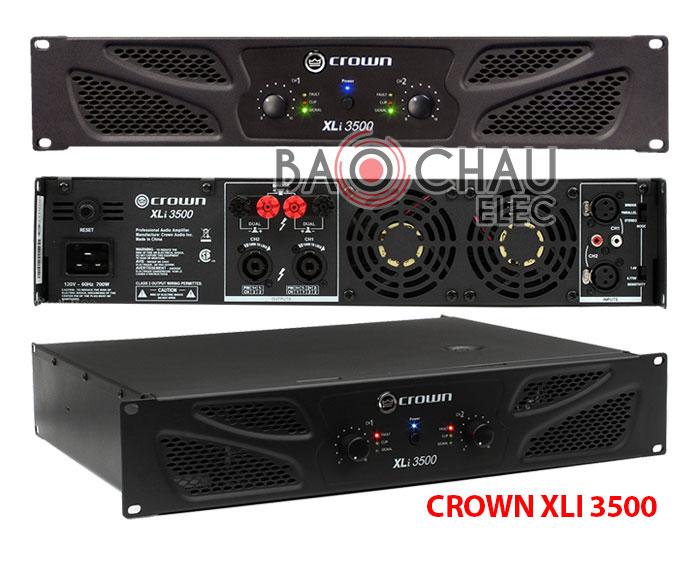 Cục đẩy Crown XLi 3500 bãi