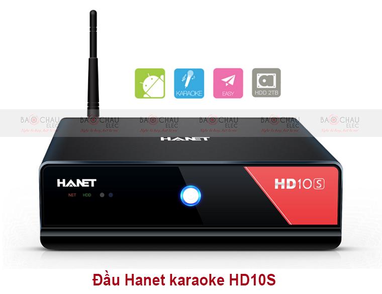 Đầu karaoke Hanet HD10S (không kèm máy tính bảng)