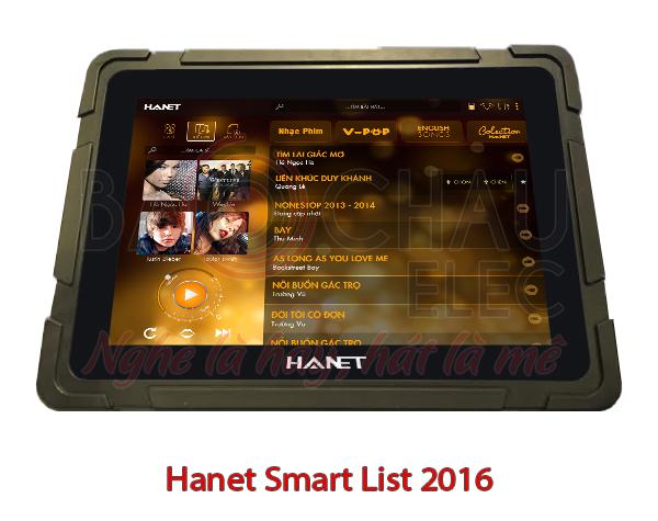 Hanet Smart List 2016