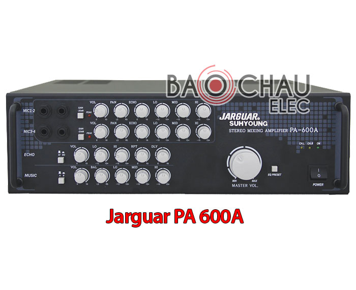 Amply Jarguar PA 600A