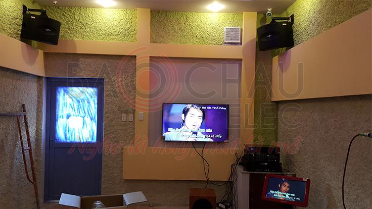 Lắp đặt 8 phòng Karaoke VIP của anh Tùng