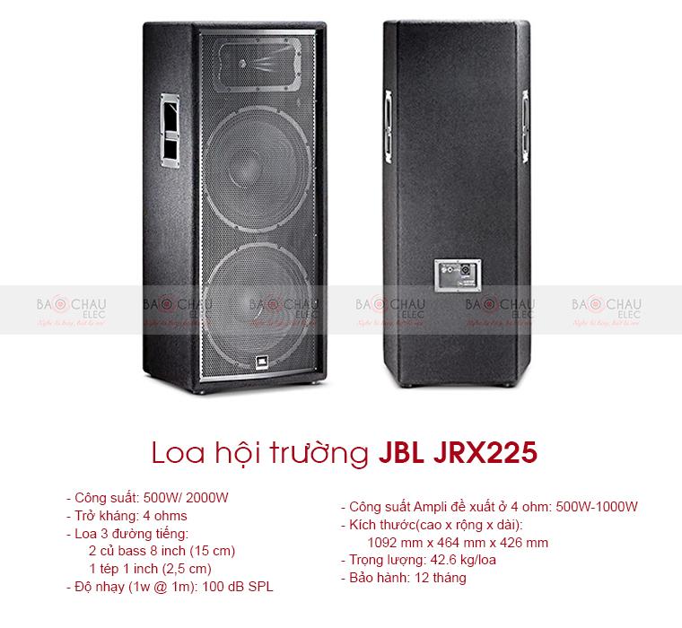 Loa sân khấu JBL JRX225