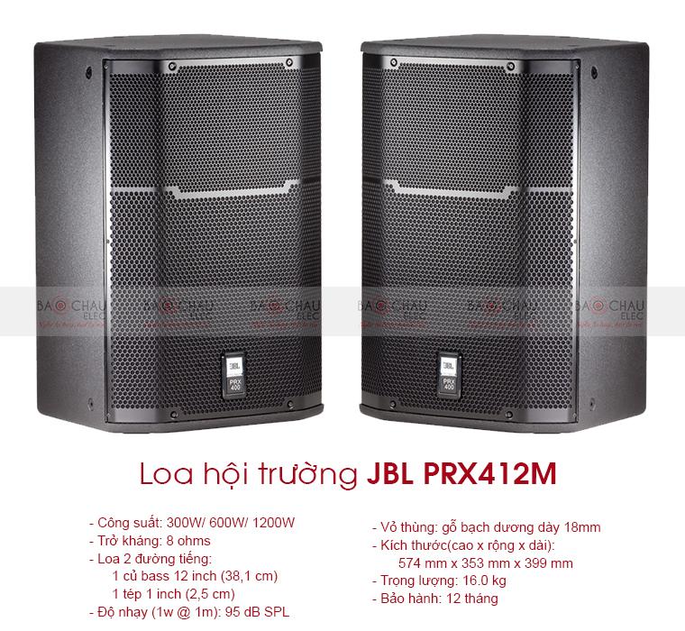 Loa hội trường JBL PRX412M