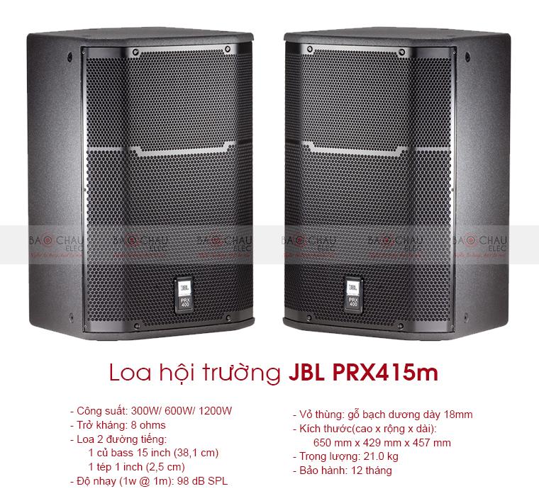 Loa sân khấu JBL PRX415M