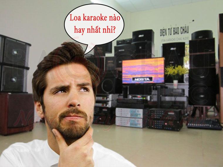 Loa karaoke nao hay nhat