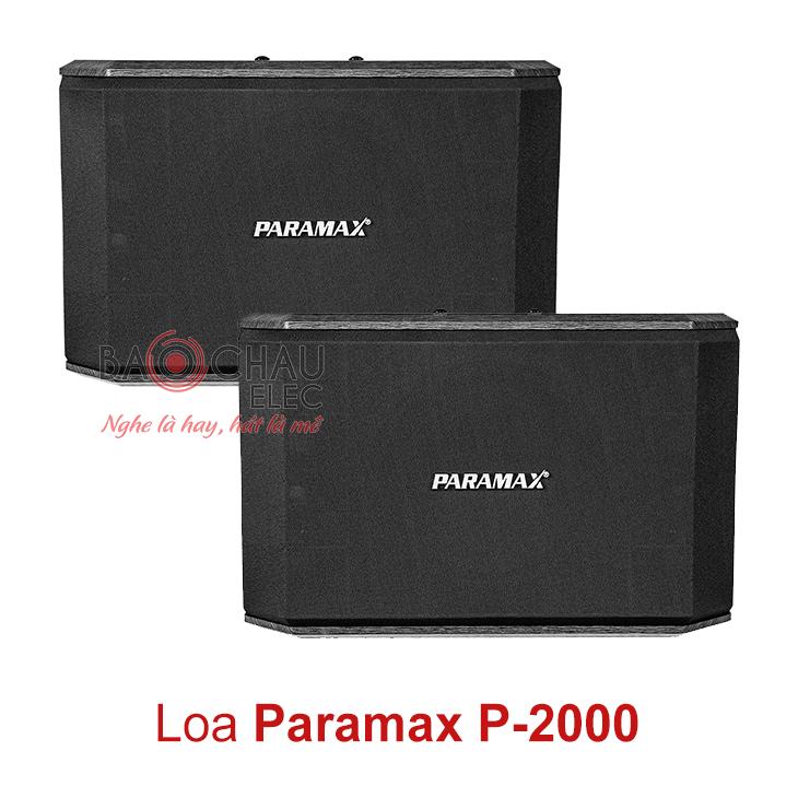 Loa karaoke paramax P-2000