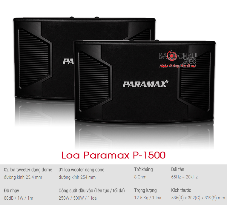 Loa Paramax P-1500