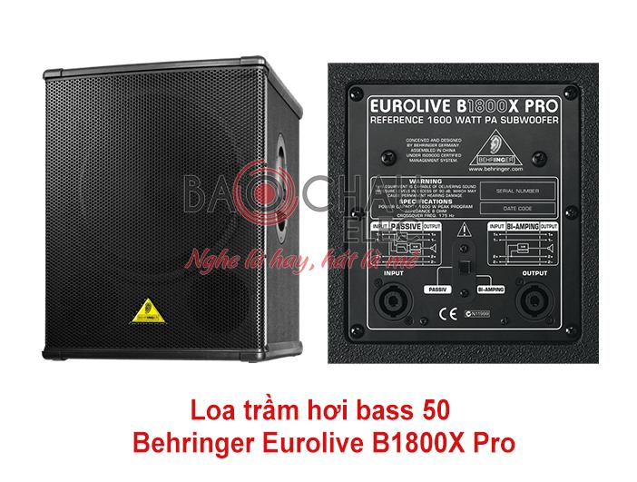 Loa trầm hơi Behringer Eurolive B1800X Pro