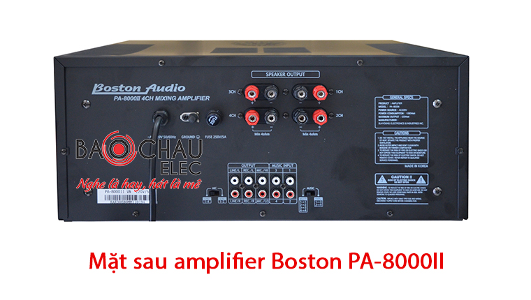 Mat sau amply boston PA-8000II