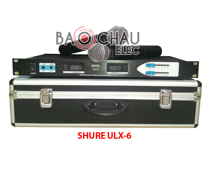 Micro karaoke SHURE ULX-6