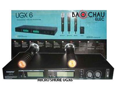 Micro Shure UGX6