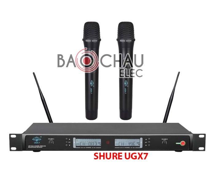 Micro karaoke shure UGX7