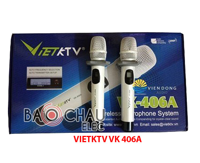 Micro khong day cao cap VIETKTV VK406A