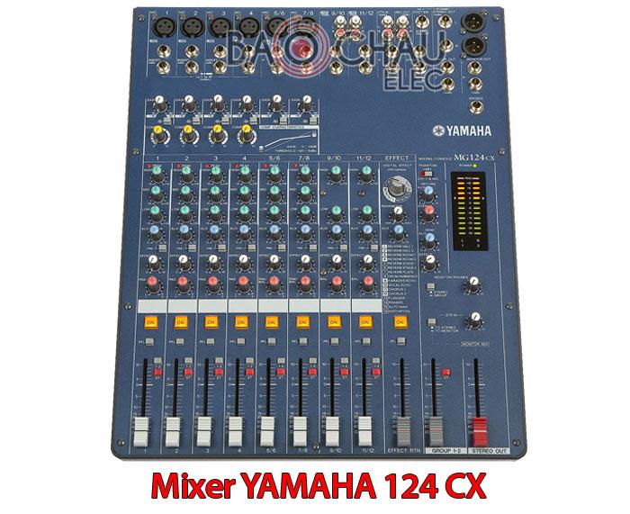 Mixer YAMAHA 124 CX