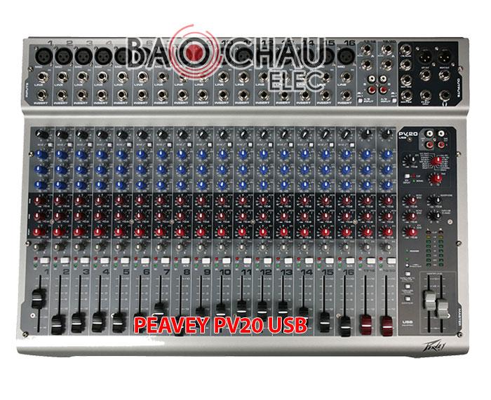 Bàn mixer Peavey PV20 USB