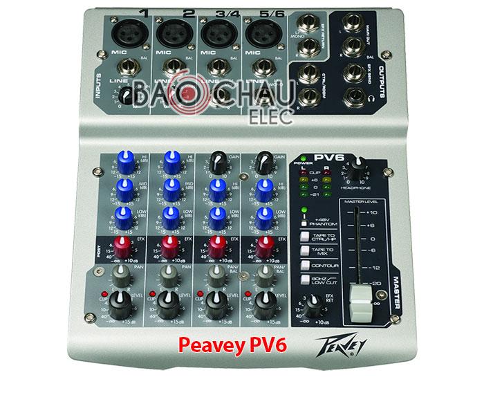 Mixer Peavey PV6