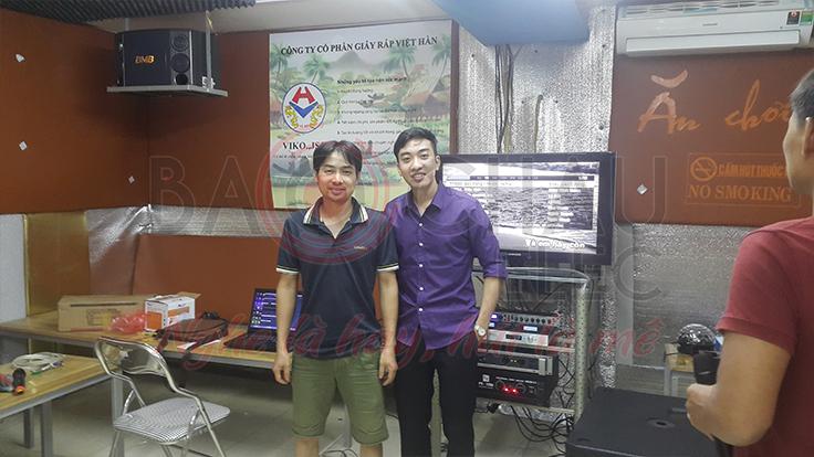 Gia đình ở Thường Tín đầu tư phòng karaoke VIP để giải trí