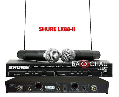 Micro SHURE LX88 II