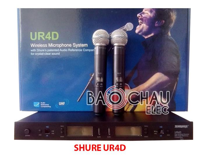 Micro Shure UR4D