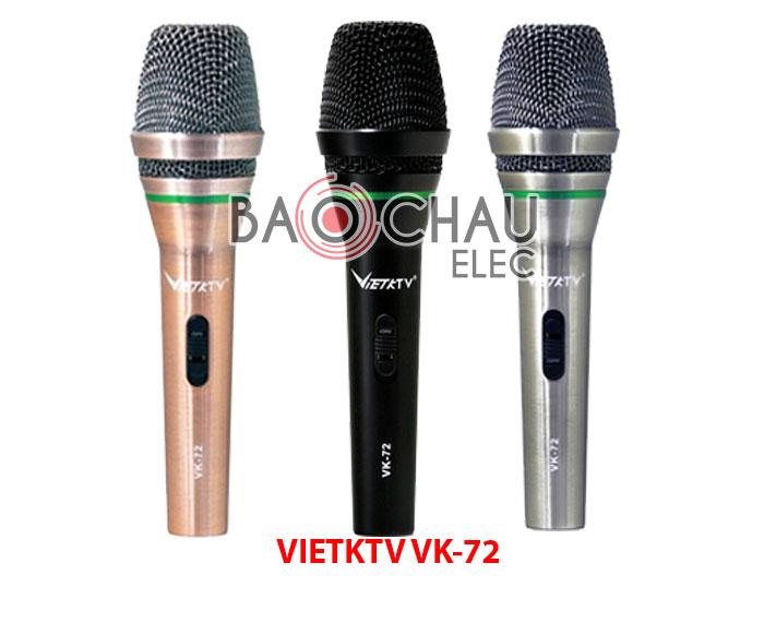 Micro karaoke Vietktv VK-72