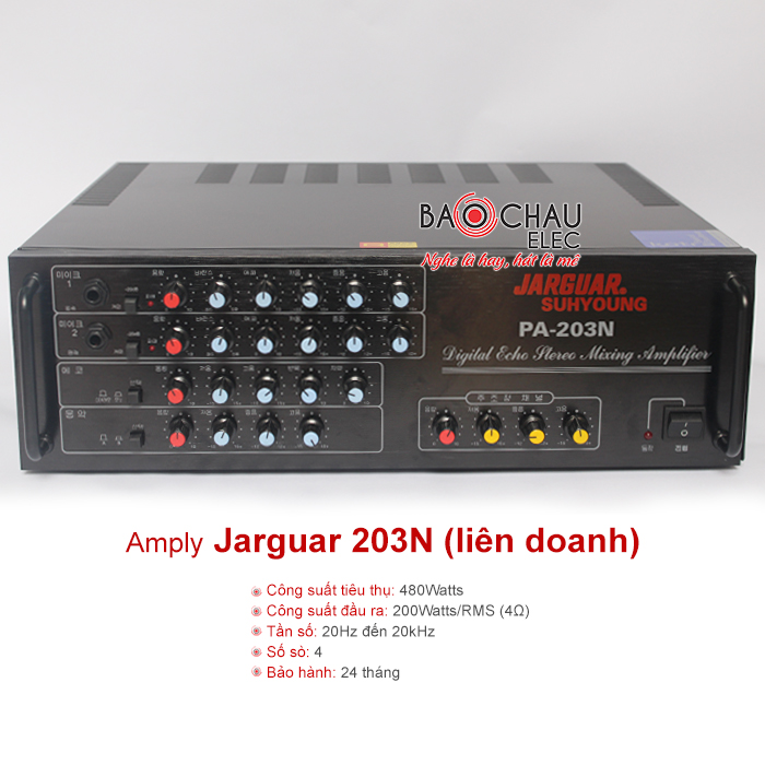 Amply Jarguar PA 203N (Liên Doanh)
