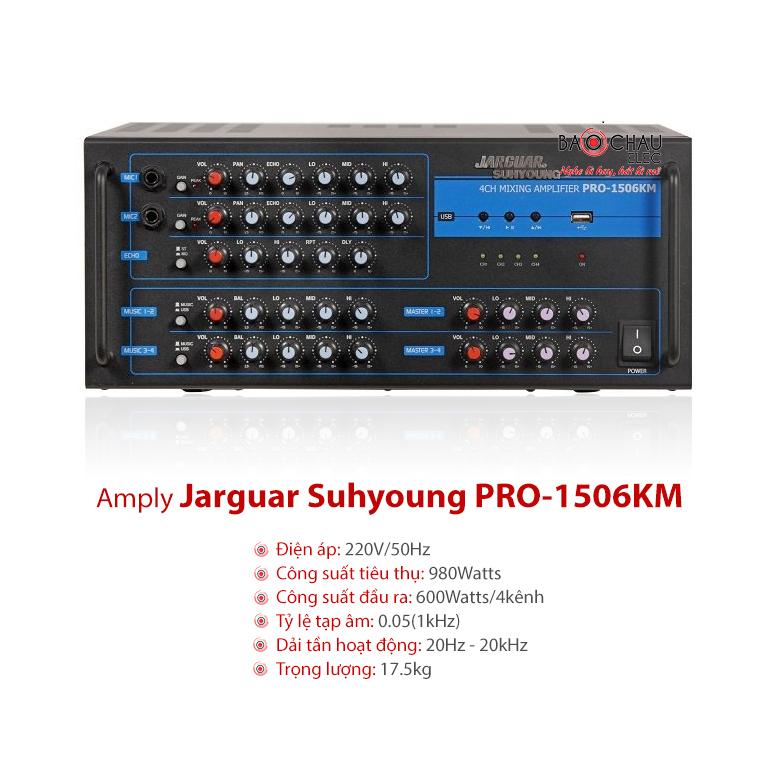 Amply Jarguar PRO-1506KM