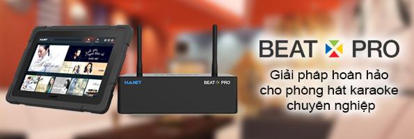 Hanet BeatX Pro - Giải pháp hoản hảo cho phòng karaoke chuyên nghiệp