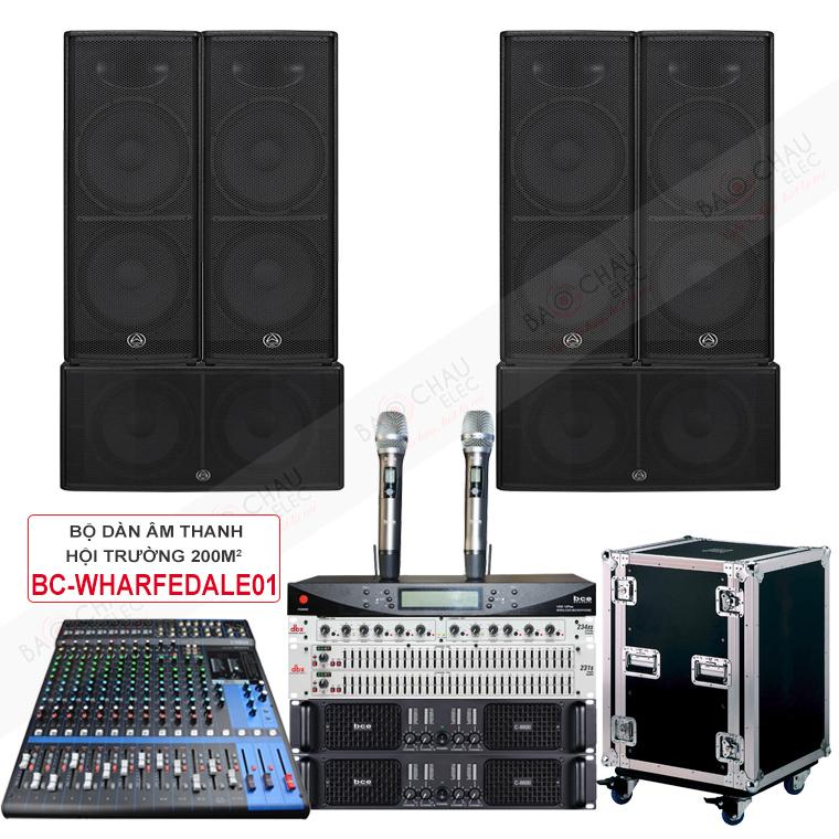 Dàn âm thanh hội trường 200m BC-Wharfedale01