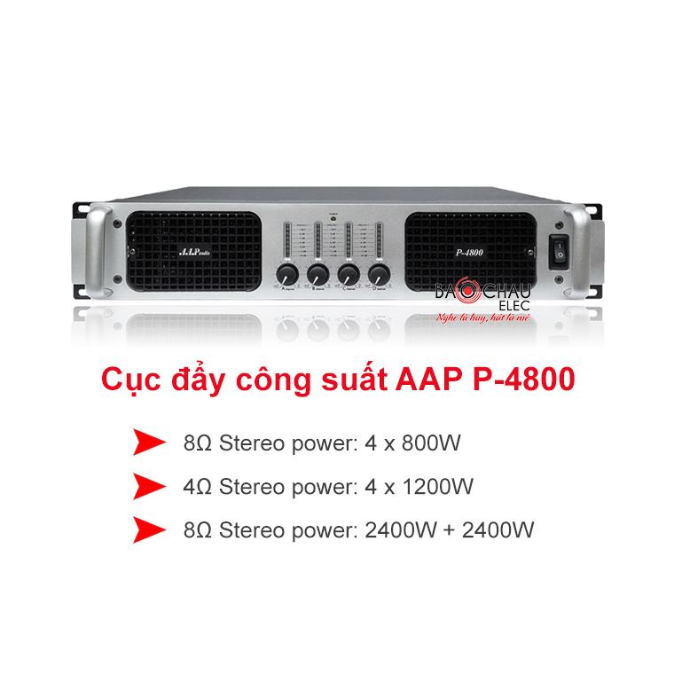 Cục đẩy công suất AAP P-4800