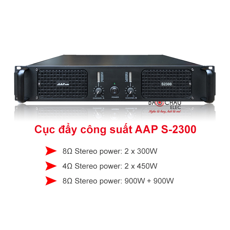 Cuc day AAP audio S-2300