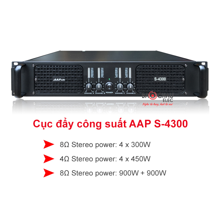 Cuc day AAP audio S-4300