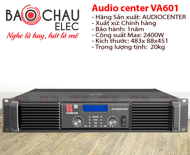 Cục đẩy Audiocenter VA601