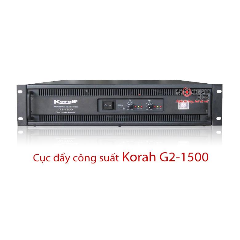 Cục đẩy công suất Korah G2-1500