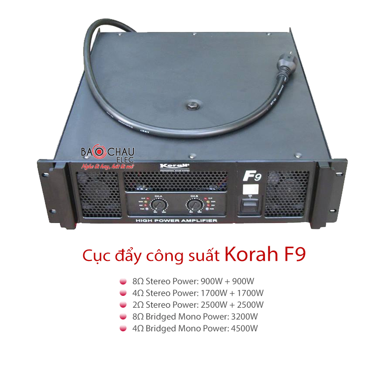Cục đẩy Korah F9