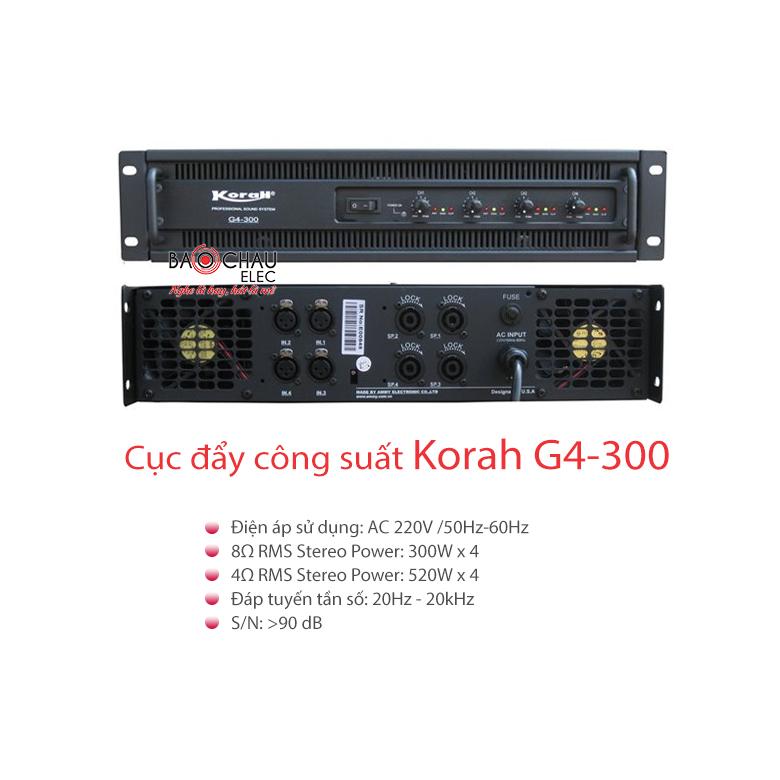 Cục đẩy Korah G4-300