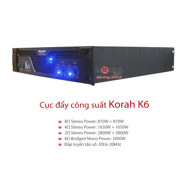 Cục đẩy Korah K6