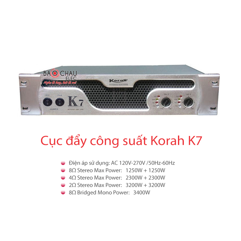 Cục đẩy Korah K7